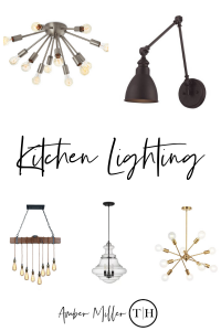 kitchen fixtures, accent lighting, task lighting, pendant, chandelier, swing arm, track, recessed lighting, wall sconces, over sink, over island, flush mount, over table, under cabinet, suspension fixtures, Island lights, spot lighting, ambient lighting, sputnik, globe, caged, cluster