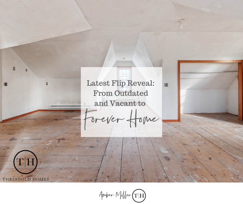 Latest Flip Reveal, House Flipping, home renovation, selling a house for profit, real estate