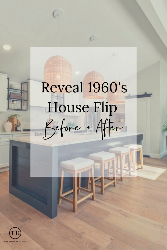 house flip, before and after, kitchen renovation, kitchen design, kitchen inspiration, kitchen island, staging houses